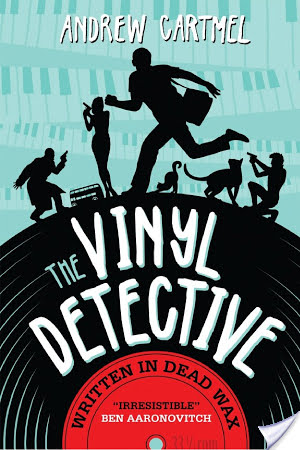 Written in Dead Wax (The Vinyl Detective #1) by Andrew Cartmel